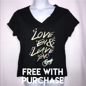Coogi Black Love 'Em & Leave 'Em Shirt XXL 2X